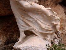 Unterseite einer Skulptur Stockfoto