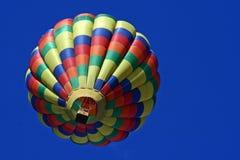 Unterseite eines Heißluft-Ballons Lizenzfreies Stockfoto