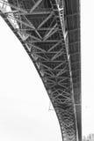 Unterseite von Aurora Bridge - Seattle Lizenzfreies Stockbild