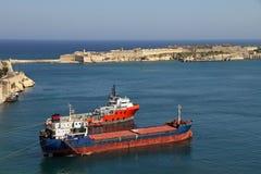 Untersetzer und Schlepper in Valletta Stockfoto
