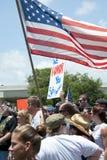 Unterstützung für gefallenen Soldaten Lizenzfreie Stockfotos