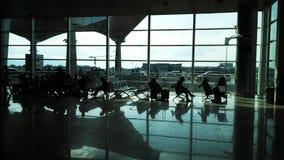 Unterstand des Flughafens stockfoto