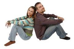 Unterstützende Paare Stockfoto