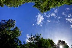 Untersuchen Sie den Himmel Stockbild