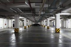 Untertägiger allgemeiner Parkplatz Shanghais Lizenzfreie Stockbilder