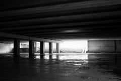 Untertageüberfahrt Stockbild