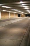 Untertageparkplatz Stockfotos