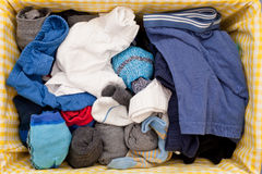 Unterwäsche und Socken Stockbild