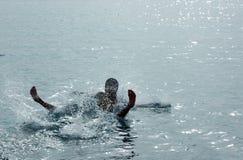 Unterwasser-Bad Lizenzfreies Stockbild