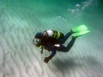 Unterwasseratemgerät 1 Lizenzfreie Stockfotos