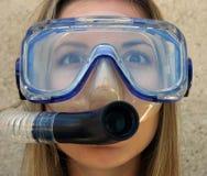 Unterwasseratemgerät lizenzfreie stockbilder