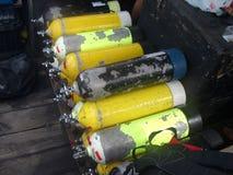 Unterwasseratemgerätbecken Lizenzfreies Stockbild