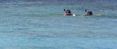 Unterwasseratemgerättaucher Lizenzfreie Stockbilder