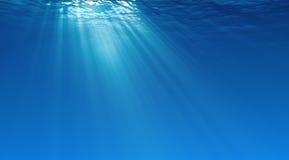 Unterwasserhintergrund Lizenzfreie Stockbilder