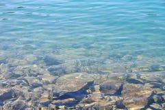 Unterwasserhintergrund Lizenzfreies Stockfoto