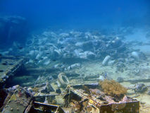 Unterwasserlandscape.w.c.pan Lizenzfreie Stockfotografie