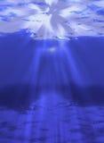 Unterwasserleuchte stock abbildung