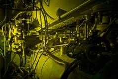 Unterwassermaschinerie Stockfoto