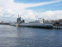 Unterwassermuseum in St Petersburg Lizenzfreies Stockbild