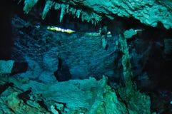 Unterwasserreflexionen lizenzfreie stockbilder