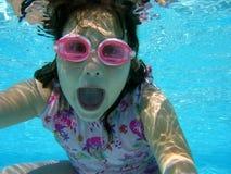 Unterwasserspaß Stockbild