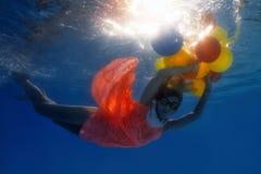 Unterwassertrieb Lizenzfreie Stockfotos