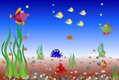 Unterwasserwelt Lizenzfreie Stockbilder