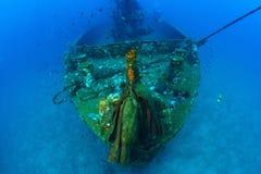 Unterwasserwrack, Gewehr, Thailand Stockfoto