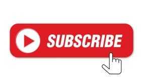 Unterzeichnen Sie Knopf auf wei?em Hintergrund stock video