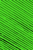 Untidy green and black diagonal stripes Stock Photography