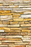 Untidy or uneven brick wall, texture background Stock Photos