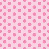 Pink dots in lines stock illustration