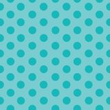 Aqua dots polka dots vector illustration