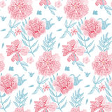 Untitled-2. Seamless pattern - simple flower background Royalty Free Stock Photos