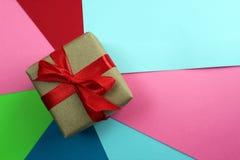 Unto abstracto con las acuarelas de diversos colores imagen de archivo libre de regalías