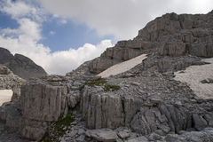 Untouched Albanian Alps Royalty Free Stock Photos