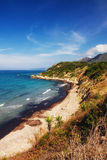 Untouched beach in Alonaki, Corfu Royalty Free Stock Photography