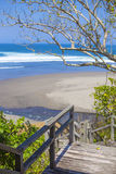 Untouched sandy beach Royalty Free Stock Photography