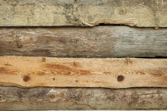 Untreated pine planks Stock Images