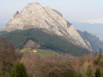 Untzillatx Mendia, Bizkaia ( Basque Country ) Royalty Free Stock Photo