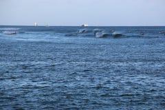 Ałunu Moana kipieli punkt Fotografia Stock