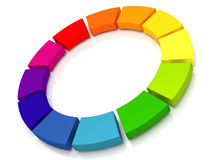 Ununterbrochene Lieferung oder Integration stock abbildung