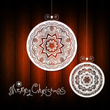 Unusal abstract vector christmas background. Royalty Free Stock Photos