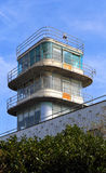 Unused airport tower Stock Images