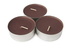 Unused scented candles Royalty Free Stock Photo