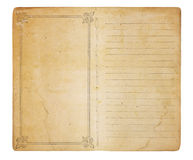 Free Unused Vintage Memo Book Stock Photography - 18743212