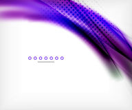 Unusual abstract background - blurred wave Stock Photos