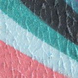 Unusual abstract  colorful painted wall background texture Royalty Free Stock Image