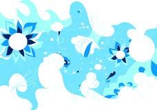Unusual abstract design stock illustration