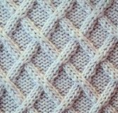 Unusual Abstract  knitted pattern background texture Stock Image
